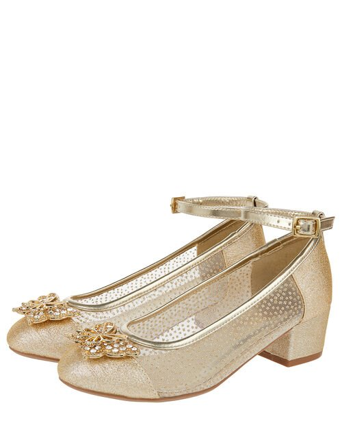 Elle Sparkle Princess Shoe, Gold (GOLD), large