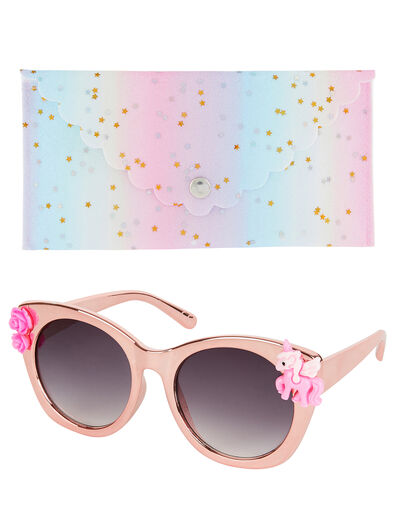 Felicity Unicorn Sunglasses with Case, , large