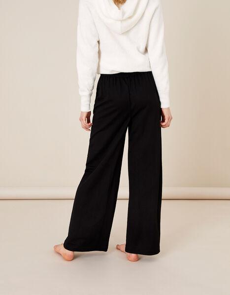 Wide-Leg Trousers Black, Black (BLACK), large