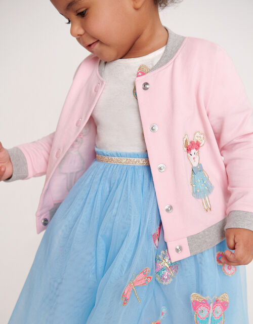 Baby Bunny Bomber Jacket, Pink (PINK), large