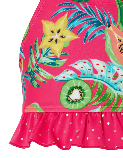 Inna Fruit Print Bikini with Recycled Polyester, Pink (PINK), large