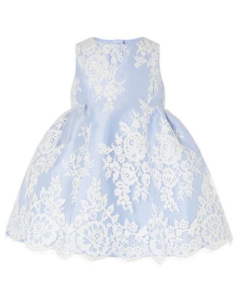 Baby Lace Dress Blue, Blue (BLUE), large