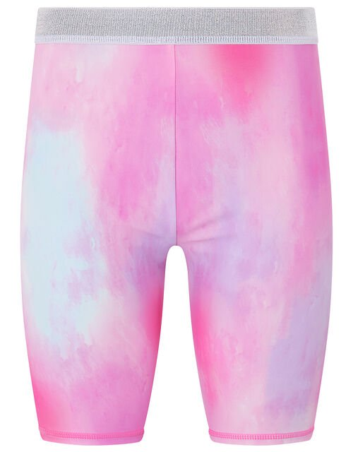 Alice Tie Dye Cycling Shorts, Pink (PINK), large