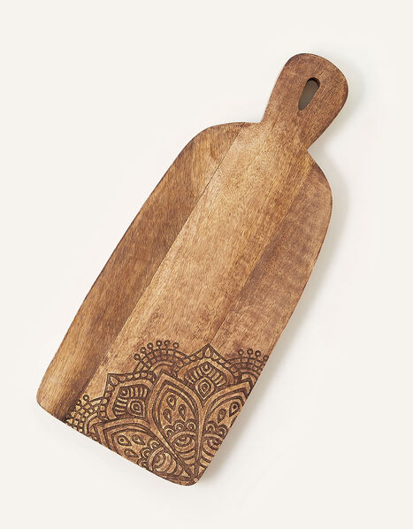 Carved Wooden Chopping Board, , large
