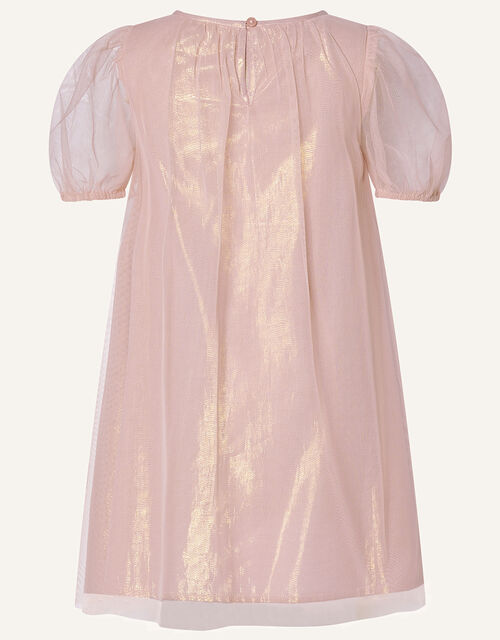 Sequin Unicorn Trapeze Dress, Pink (PINK), large