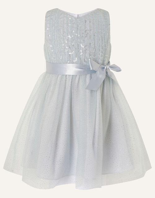 Baby Sequin Sparkle Dress, Grey (GREY), large
