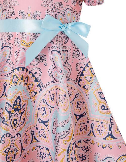 Paisley Hanky Hem Dress, Multi (MULTI), large