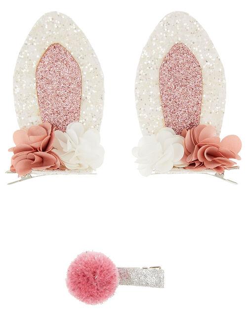 Bonnie Bunny Hair Clip Set, , large