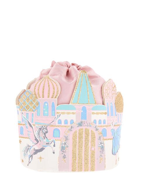 Fairy-Tale Castle Pouch Bag, , large