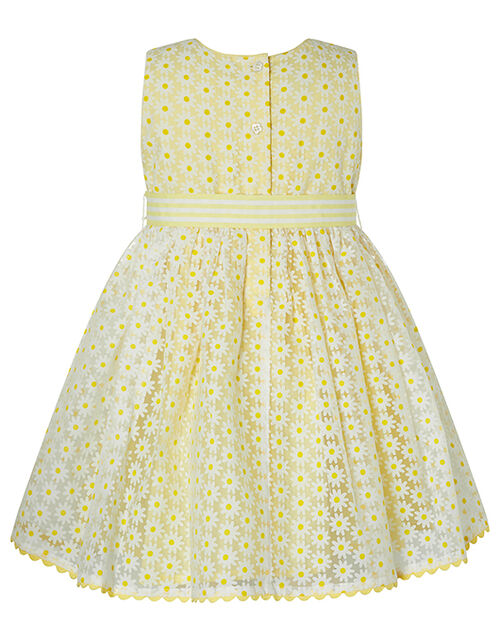 Baby Diana Daisy Dress, Yellow (YELLOW), large