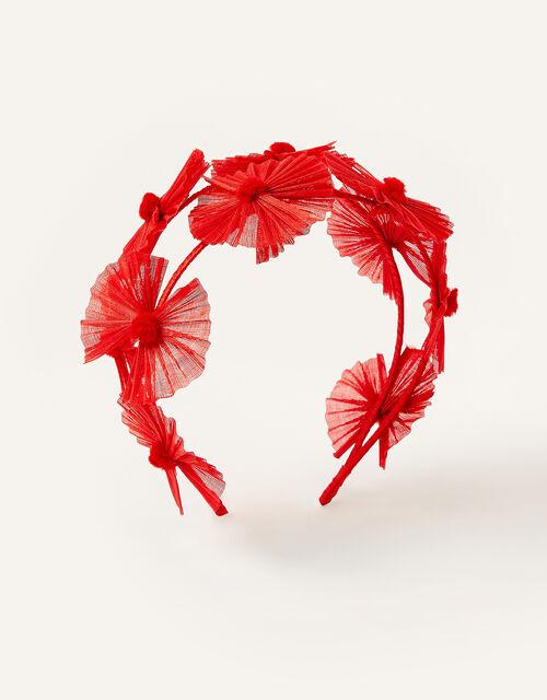 Floral Fascinator Headband, , large