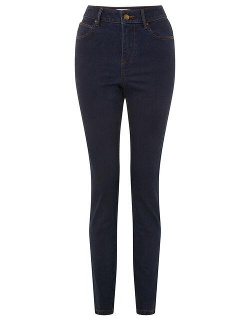 Nadine Short-Length Skinny Jeans, Blue (INDIGO), large