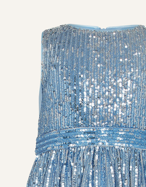 Sequin Ombre Sleeveless Dress, Multi (MULTI), large