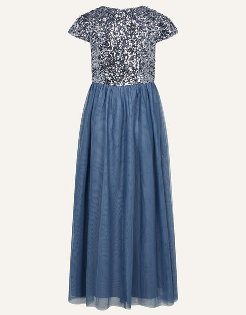 Truth Sequin Prom Dress , Grey (GREY), large