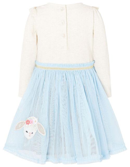 Baby Bunny Disco Dress, Blue (BLUE), large