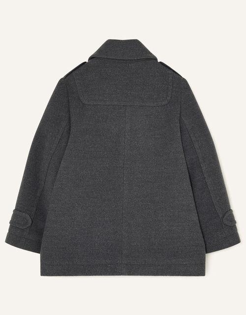 Smart Peacoat, Grey (GREY), large