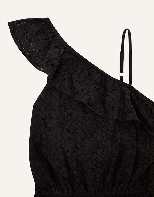 Lace Playsuit , Black (BLACK), large