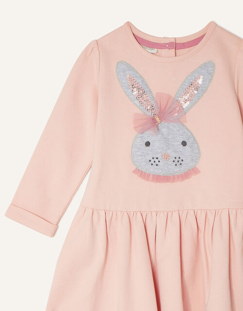 Baby Bunny Dress and Tights Set, Pink (PINK), large