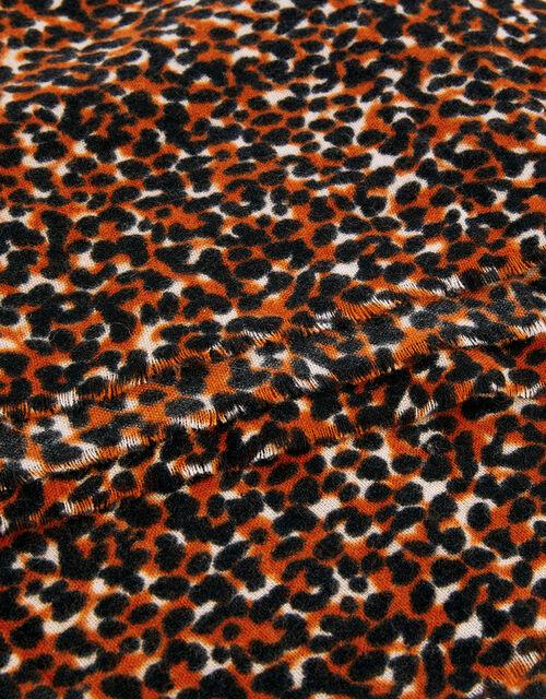 Animal Print Scarf, , large