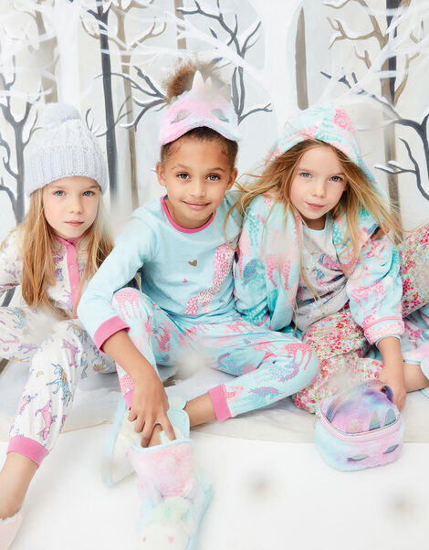 Fluffy Unicorn Sleepover Set, , large