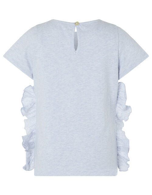 Cora Sequin Unicorn T-shirt in Organic Cotton, Purple (LILAC), large
