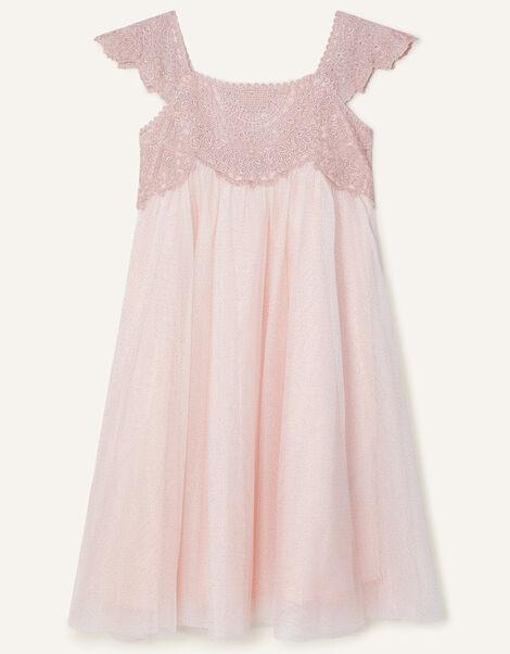 Estella Shimmer Dress Pink, Pink (PINK), large