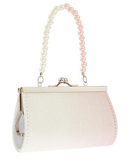 Glitter Butterfly Mini Bag, , large