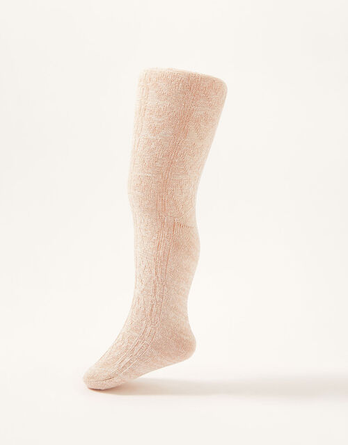 Baby Cable Knit Tights Multipack, Multi (MULTI), large