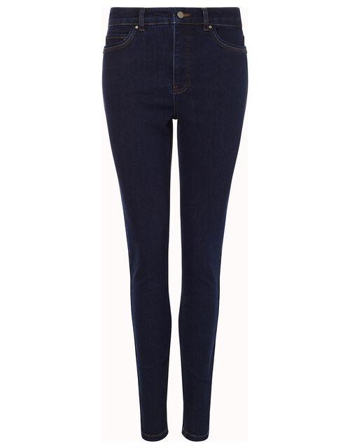 Iris Regular-Length Skinny Jeans, Blue (BLUE/BLACK), large