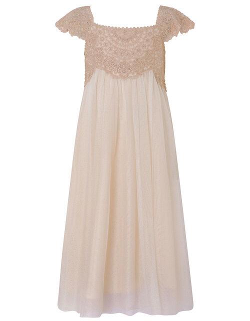 Estella Sparkle Dress, Pink (PINK), large