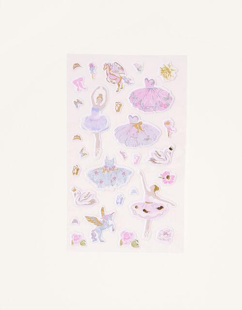 Ballerina Dress-up Stickers, , large