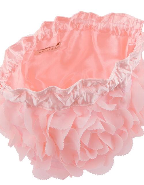 Nina Rosette Pouch Bag, , large