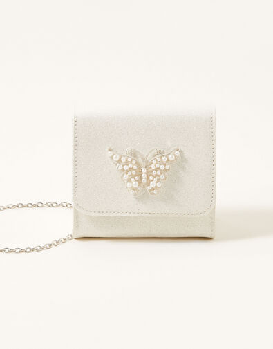 Pearly Butterfly Shimmer Bag, , large