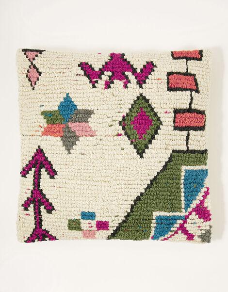 Aztec Block Cushion, , large