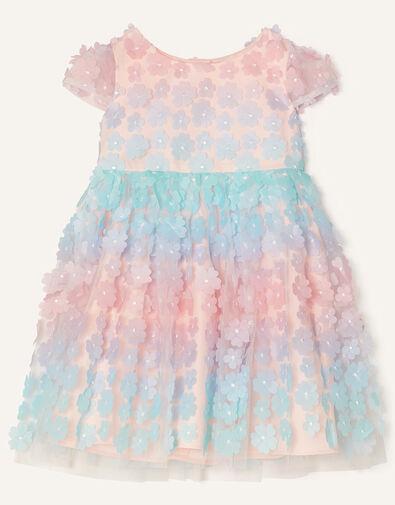 Baby 3D Flower Ombre Dress  Multi, Multi (MULTI), large