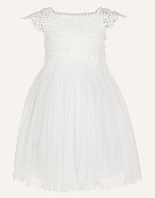 Baby Estella Dress, Ivory (IVORY), large