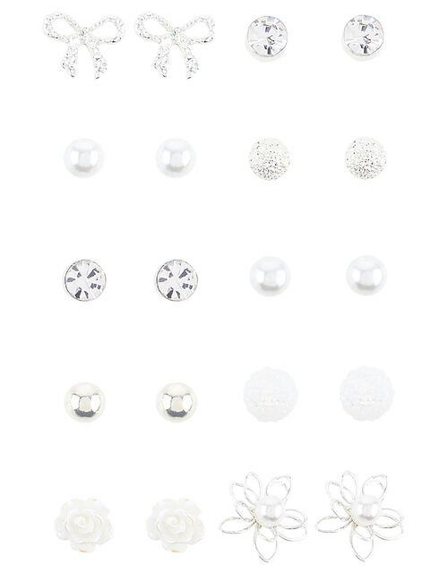 Wire Flower Earring Multipack , , large