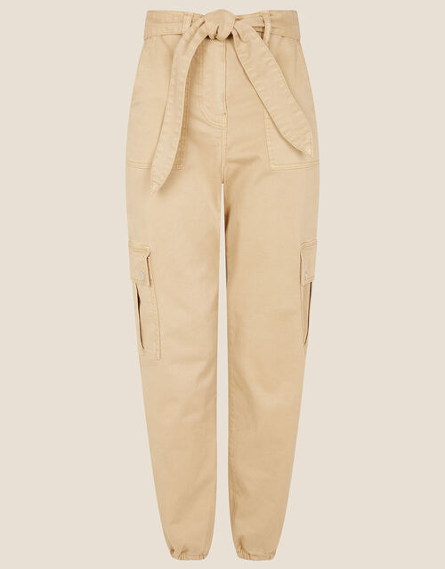 Vera Cargo Trousers, Natural (STONE), large