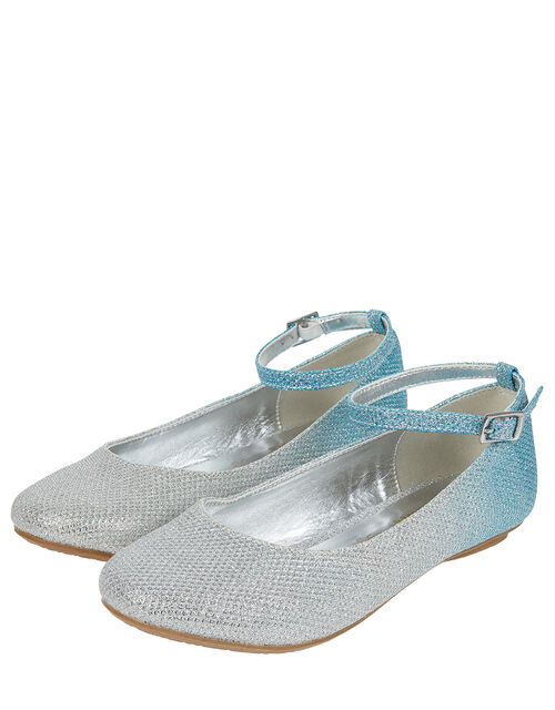 Alexa Ombre Ballerina Flats, Blue (BLUE), large