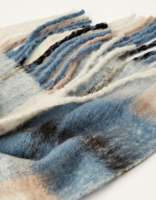 Check Blanket Scarf, , large