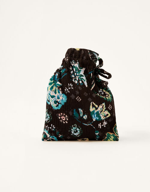 Floral Face Mask in Sustainable Viscose, , large