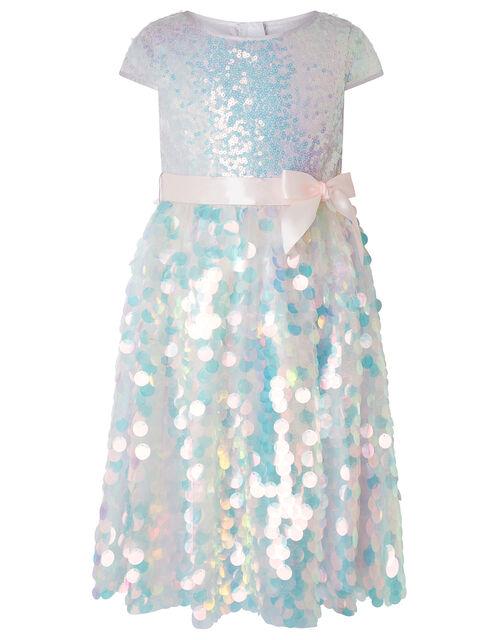 Mermaid Pearl Sequin Dress, Pink (PINK), large