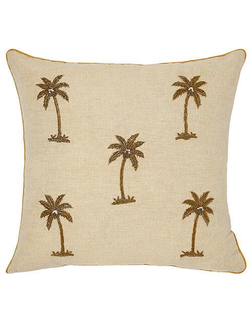 Zardozi Palm Tree Cushion, , large