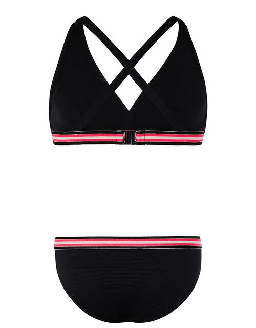 Storm Elise Sporty Bikini Set, Black (BLACK), large