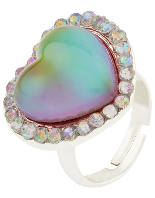 Sparkle Heart Mood Ring, , large