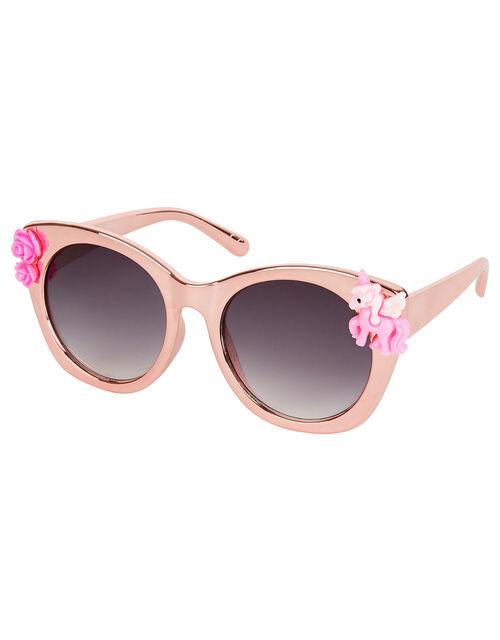 Felicity Unicorn Plastic Sunglasses, , large