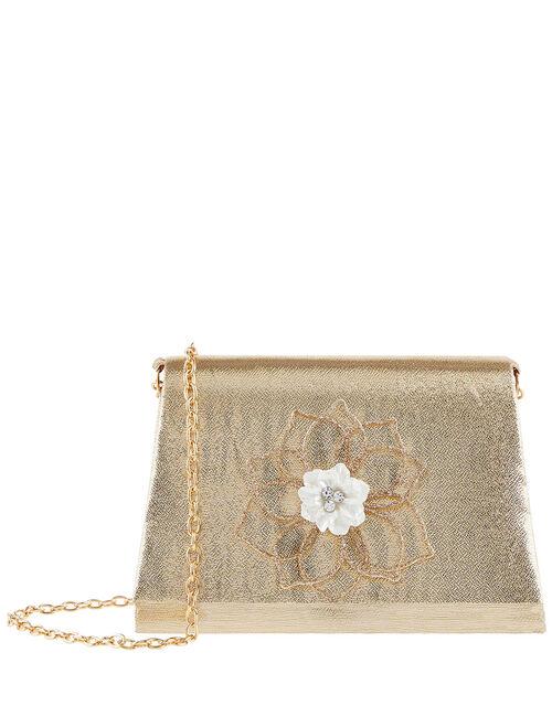 Flower Shimmer Bag, , large