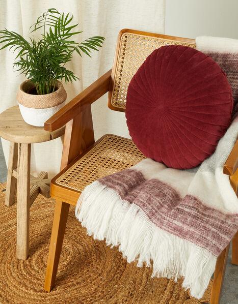 Round Velvet Cushion, , large