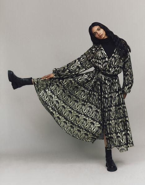Renee Embroidered Kimono Black, Black (BLACK), large