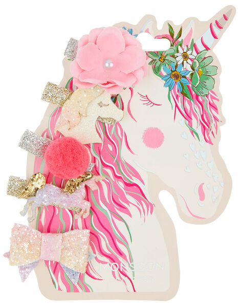 Misty Unicorn Hair Clips, , large